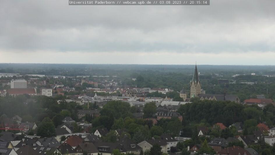 Webcam Uni Paderborn - Richtung Innenstadt