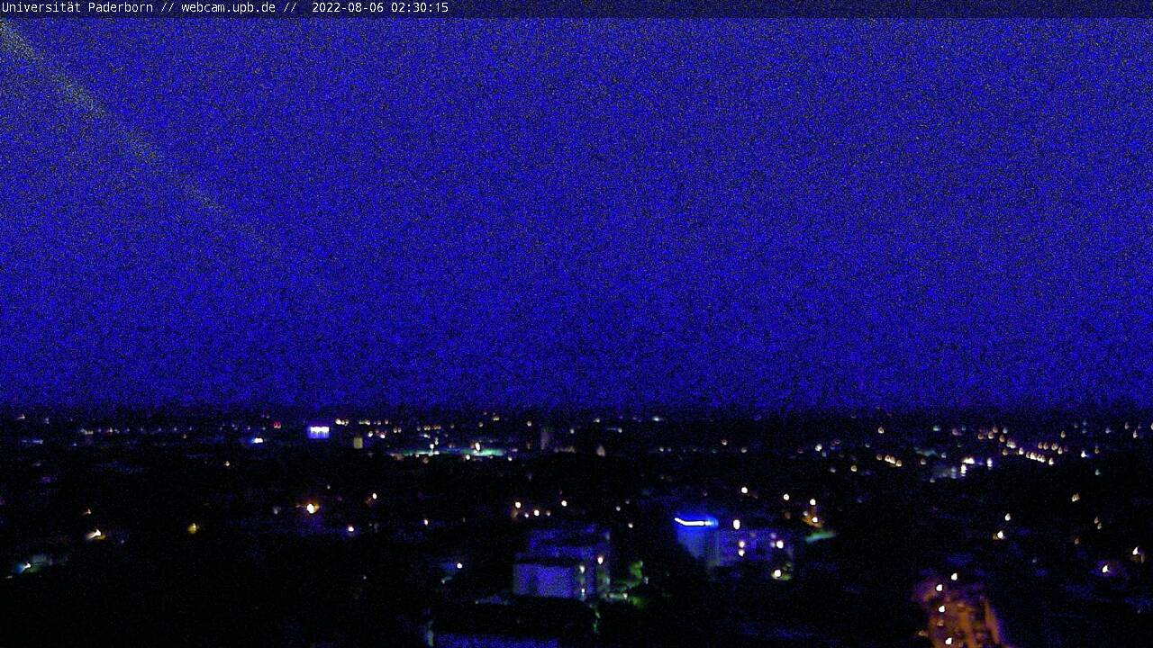Webcam Paderborn - Towercam Universität Paderborn