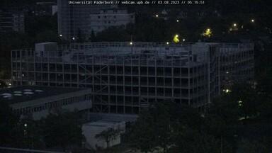 Baustelle Gebäudeteil O, Uni Paderborn