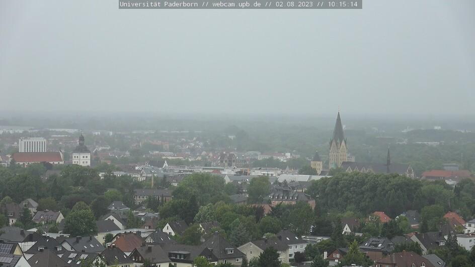Paderborn City Center Panorama